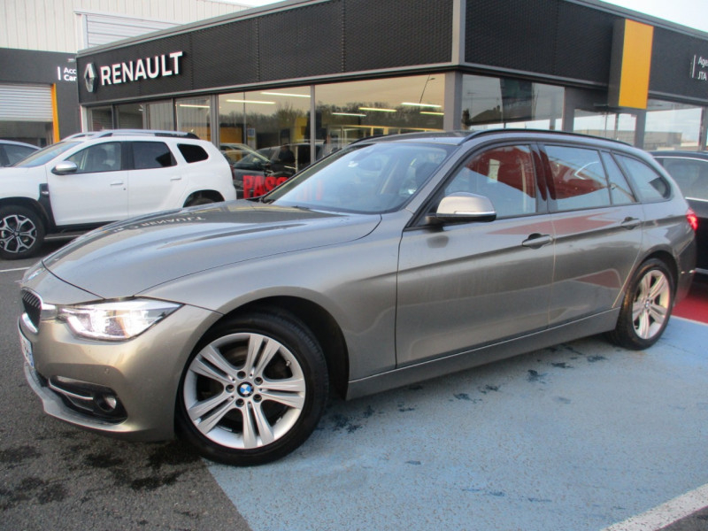 Bmw SERIE 3 TOURING (F31) 318DA 150CH BUSINESS DESIGN Diesel GRIS C Occasion à vendre