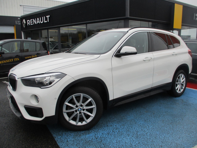 Bmw X1 (F48) SDRIVE18DA 150CH BUSINESS Diesel BLANC Occasion à vendre