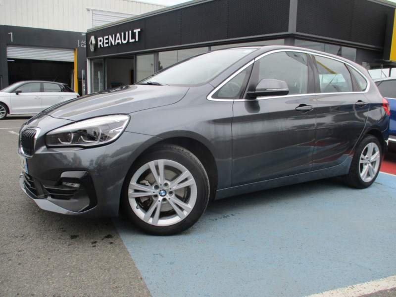 Bmw SERIE 2 ACTIVETOURER (F45) 218DA 150CH BUSINESS DESIGN Diesel GRIS C Occasion à vendre