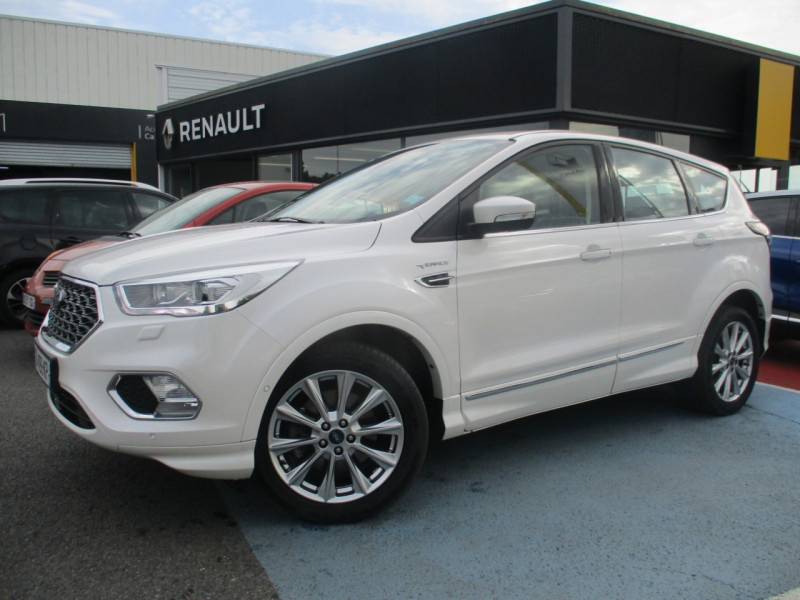 Ford KUGA 2.0 TDCI 150CH STOP&START VIGNALE 4X2 Diesel BLANC Occasion à vendre