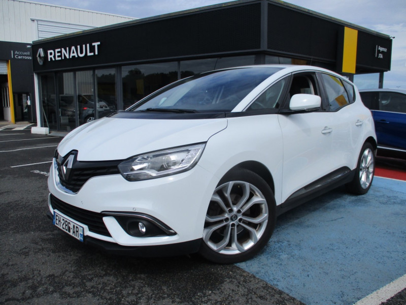 Renault SCENIC IV 1.5 DCI 110CH ENERGY BUSINESS Diesel BLANC Occasion à vendre