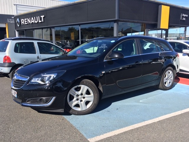 Opel INSIGNIA SP TOURER 1.6 CDTI 120CH BUSINESS EDITION 7CV Diesel NOIR Occasion à vendre