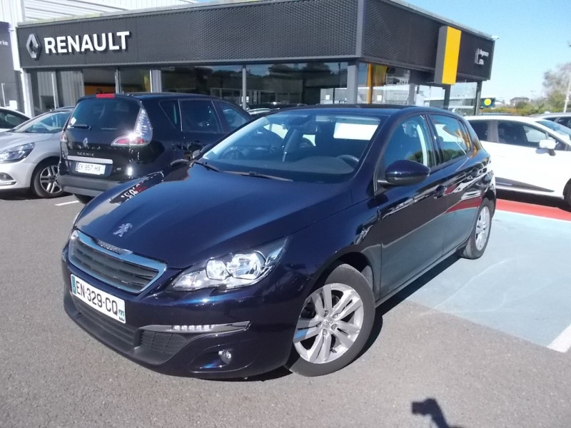 Peugeot 308 1.6 BLUEHDI 120CH ACTIVE BUSINESS S&S EAT6 5P Diesel BLEU F Occasion à vendre
