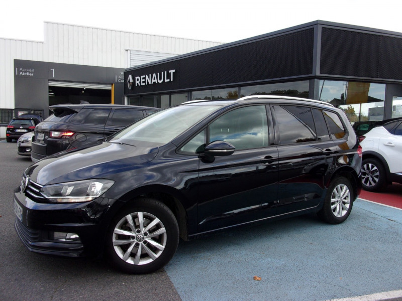 Volkswagen TOURAN 1.6 TDI 110CH BLUEMOTION TECHNOLOGY FAP CONFORTLINE BUSINESS DSG7 5 PLACES Diesel NOIR Occasion à vendre